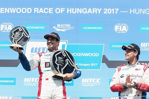 Mehdi Bennani wins Hungaroring WTCC 2017