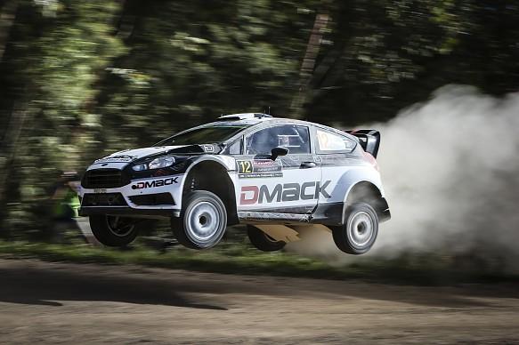 Ott Tanak, DMACK Ford, WRC Australia 2016