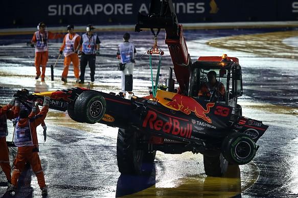 Max Verstappen Red Bull Singapore Grand Prix 2017 Sutton