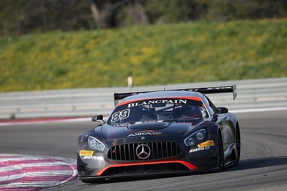 ASP Mercedes, Blancpain Paul Ricard test