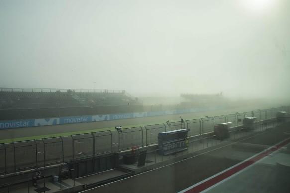 Fog Aragon MotoGP 2017