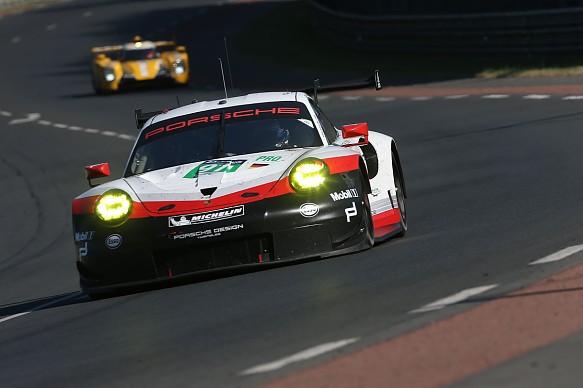Lietz, Makowiecki, Pilet Porsche 911 RSR Le Mans 2017