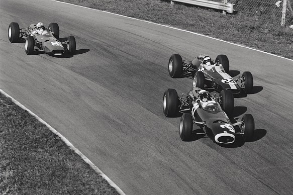 1965 Italian Grand Prix Stewart Clark Surtees