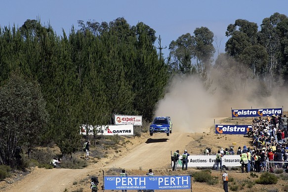 Petter Solberg WRC Rally Australia 2006