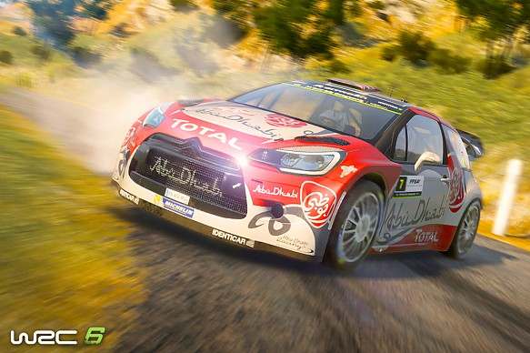 WRC 6 game screenshot