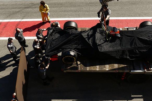 Vandoorne, McLaren-Honda, Barcelona F1 test