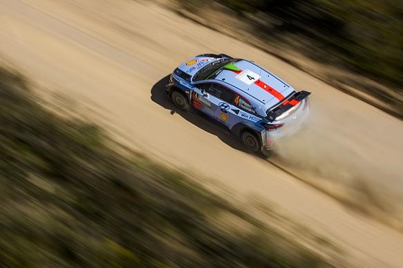 Hayden Paddon Rally Italy 2017