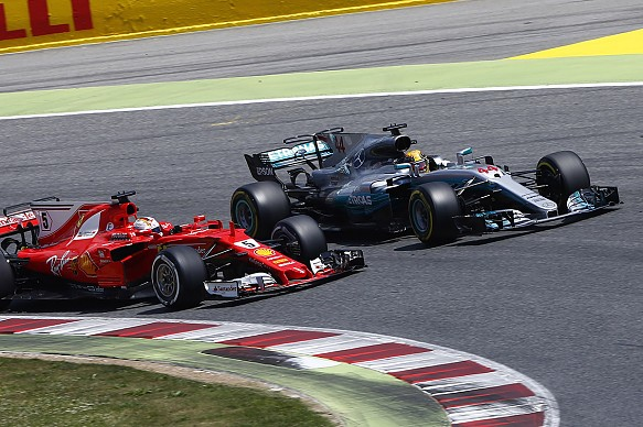 Vettel Hamilton F1 2017