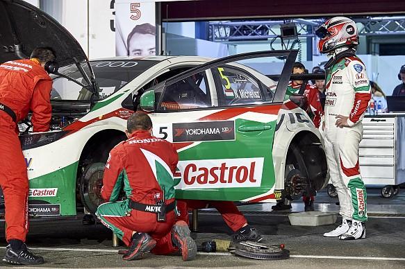 Norbert Michelisz Honda Qatar WTCC 2017