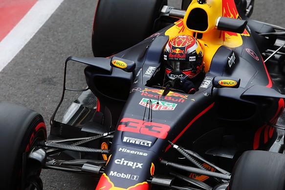 Max Verstappen Red Bull F1 2017
