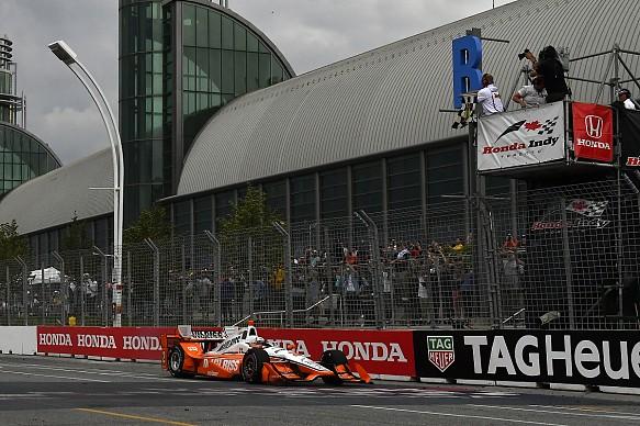 Josef Newgarden Penske Toronto IndyCar 2017