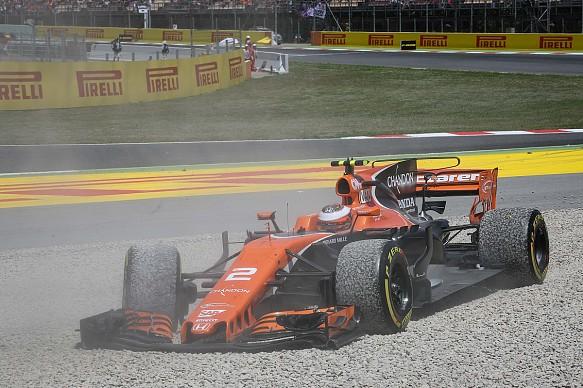 Vandoorne off Spanish GP 2017