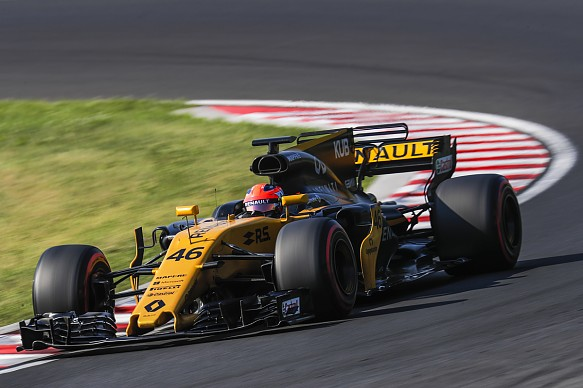 Robert Kubica Hungary F1 test 2017