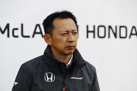 Yusuke Hasegawa Honda F1 2017