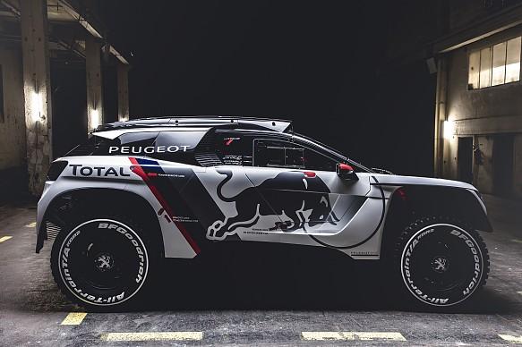 Peugeot 3008DKR Dakar launch