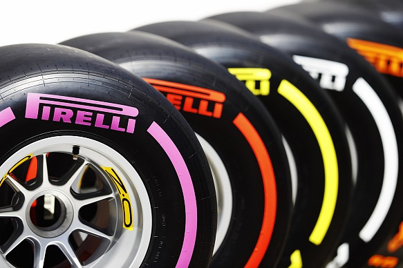 Pirelli 2017 tyre compounds
