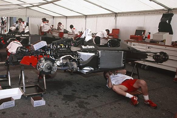 1988 McLaren MP4/4 detail