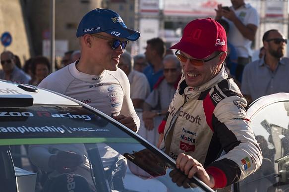Tanak Latvala Rally Italy 2017