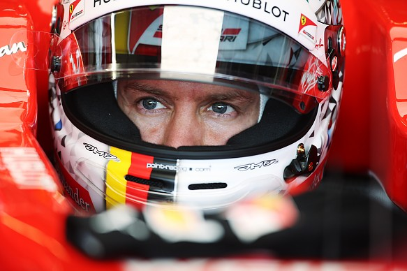Sebastian Vettel Ferrari 2017