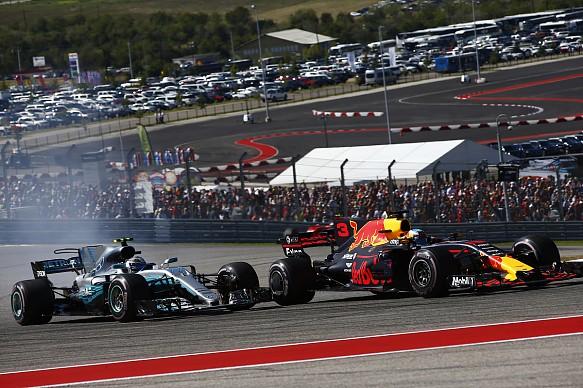 Ricciardo Bottas US GP 2017