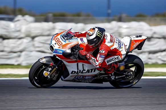 Lorenzo, Ducati, testing