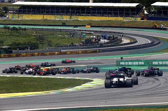 Brazilian Grand Prix 2017 start