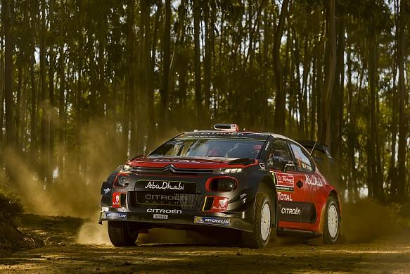 Kris Meeke Citroen WRC 2017