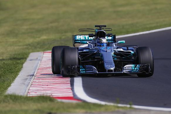 Valtteri Bottas Pirelli tyre test Hungary 2017