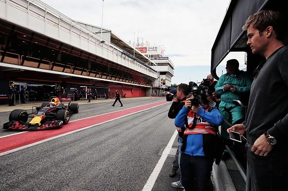 Nico Rosberg F1 testing 2017
