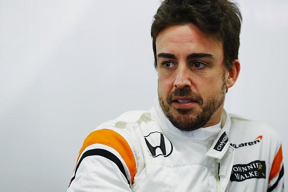 Fernando Alonso McLaren F1 2017