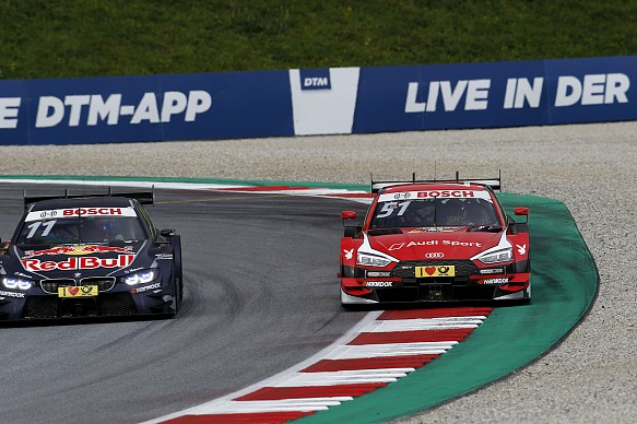 Wittmann Muller Red Bull Ring DTM 2017