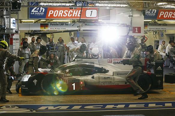 #1 Porsche 919 Le Mans 2017