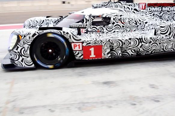 Porsche LMP1 testing