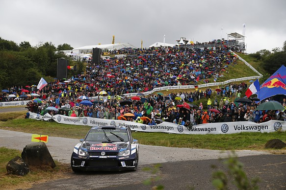 Sebastien Ogier, VW, WRC Germany 2016