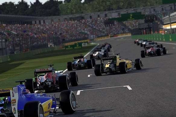 F1 2016, formation lap