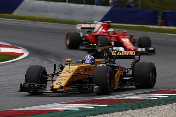 Palmer Renault Austrian GP 2017
