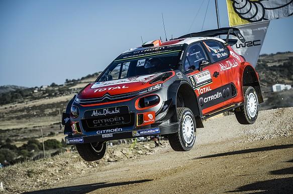 Andreas Mikkelsen Citroen WRC Italy 2017
