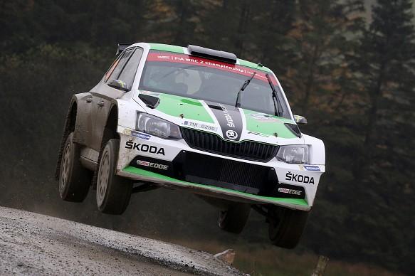 Skoda WRC2 2016 Rally GB