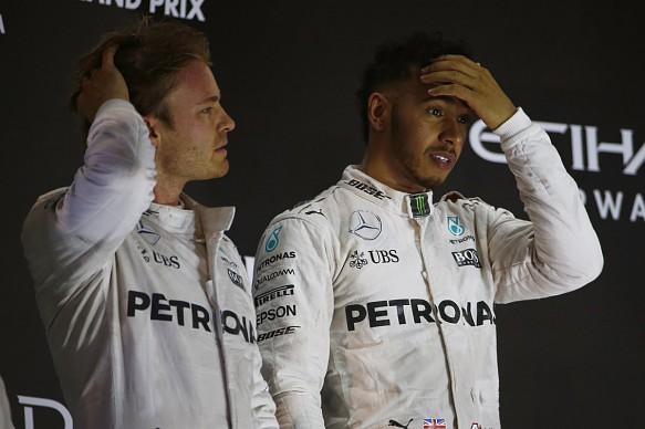 Rosberg Hamilton F1 2016
