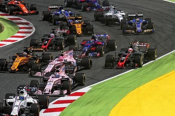 Spanish GP start 2017