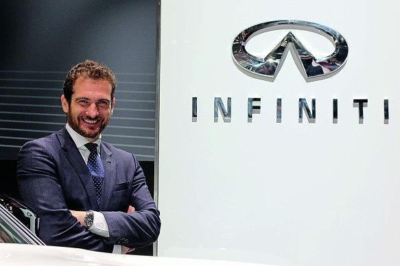 Tommaso Volpe INFINITI feature