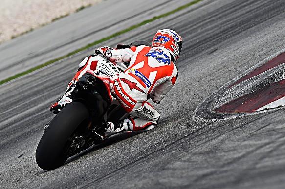Casey Stoner, Ducati MotoGP testing 2016