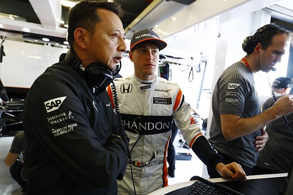 Hasegawa Vandoorne McLaren F1 2017