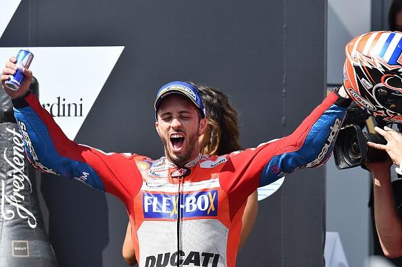 Andrea Dovizioso Ducati MotoGP Red Bull Ring 2017