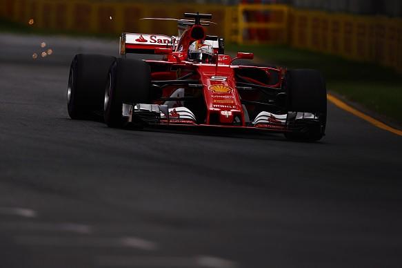 F1 Australian GP: Ferrari driver Vettel fastest in final ...