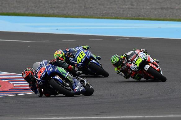Vinales leads Rossi/Crutchlow, MotoGP, Argentina