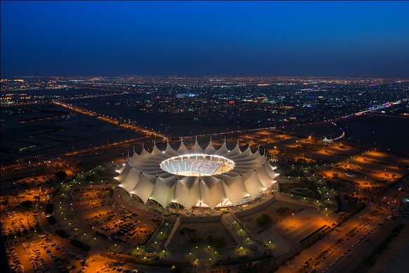 Race of Champions King Fahd stadium Saudi Arabia