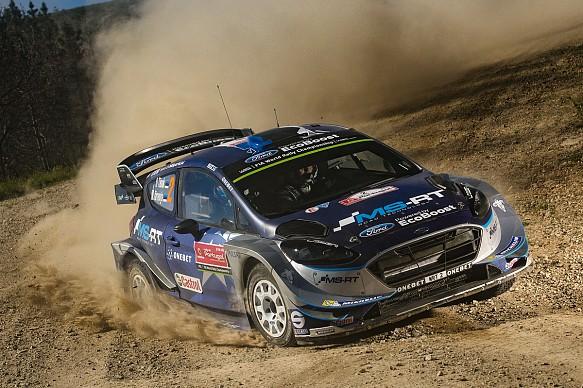 Ott Tanak M-Sport Ford WRC Portugal 2017