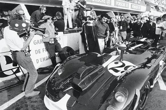 Le Mans filming 1970 Steve McQueen