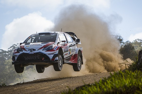 Jari-Matti Latvala Toyota WRC Australia 2017